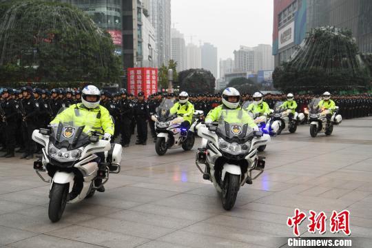 重庆警方启动全市社会面大巡防