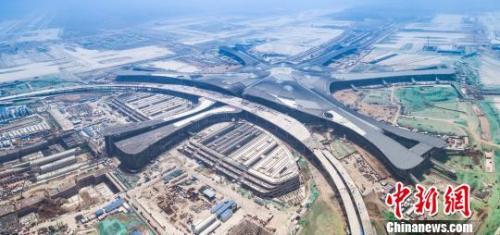 北京新机场。 北京新机场建设指挥部供图