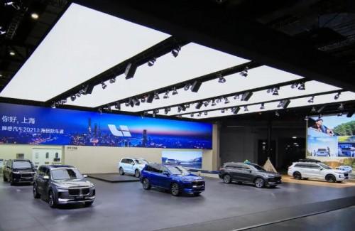 理想ONE实力亮相上海车展 理想汽车抢滩智能化高地